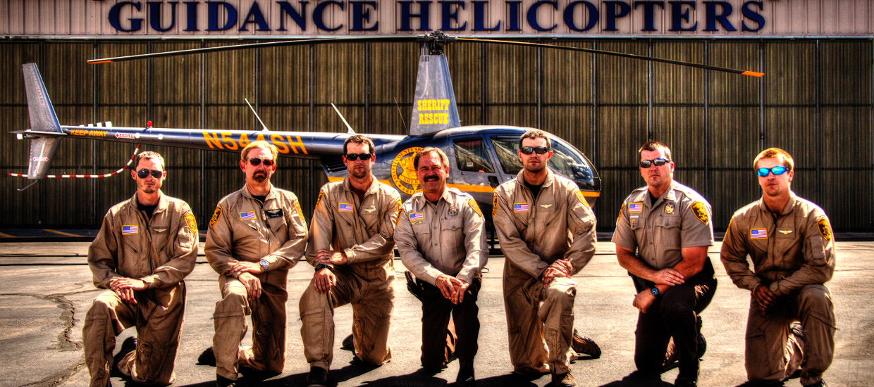 Deputized helicopter pilots, guidance aviation, yavapai county, sheriff rescue