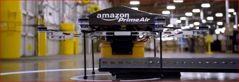 drones amazon prime air delivery
