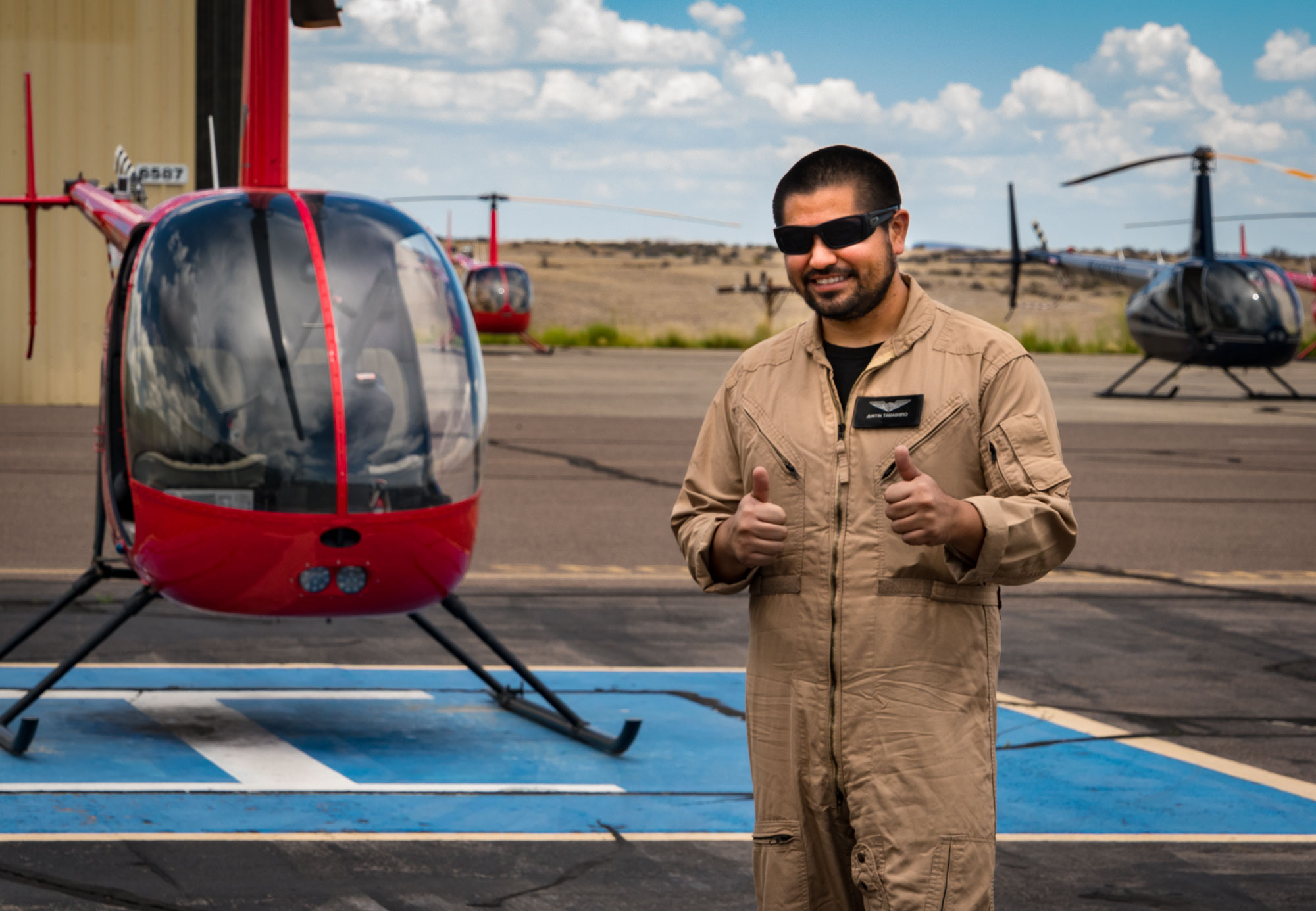 Guidance Aviation student pilot, Justin Tamashiro